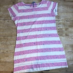 Beachy Dress with Pink Shells Hatley Short Sleeve